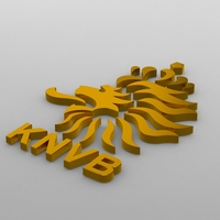 holland logo 3D Model