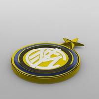 Internazionale logo 3D Model