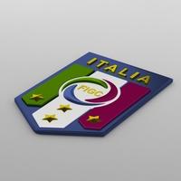 italia logo 3D Model