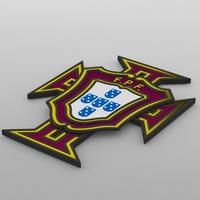 portugal logo 3D Model