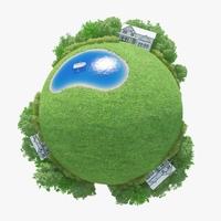 Planet Mere 01 3D Model