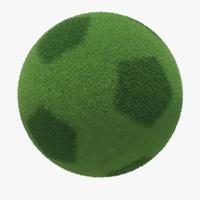 Planet Football 3D Model