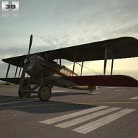 SPAD S.XIII 3D Model