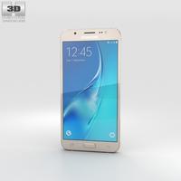 Samsung Galaxy J5 (2016) Gold 3D Model