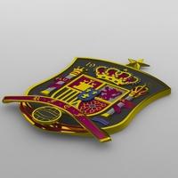 Spanish logo 3D Model