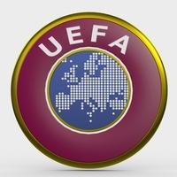 uefa logo 3D Model