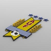 uruguay logo 3D Model