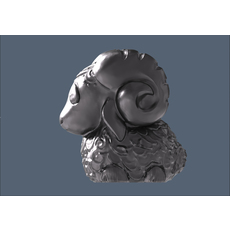 baa-lamb jewelry 3D Model