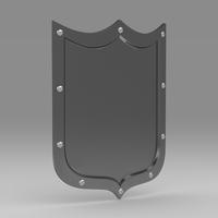 Shield 3 3D Model