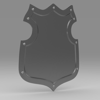 Shield 4.3 3D Model