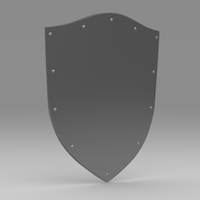 Shield 4.6 3D Model