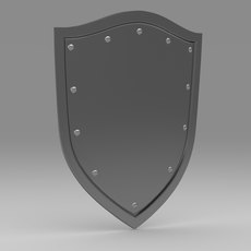 Shield 4.7 3D Model