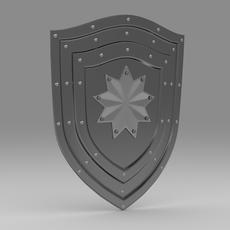 Shield 4.8 3D Model