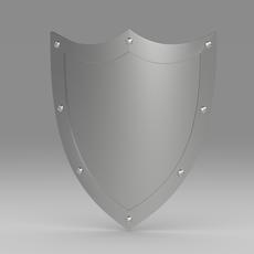 Shield 5.3 3D Model