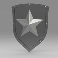 Shield 5.4 3D Model