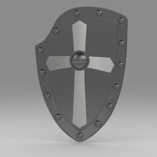 Shield 5.5 3D Model