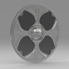 Shield 8 3D Model