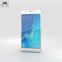 Samsung Galaxy J5 (2016) White 3D Model