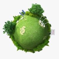 Green Planet Energy 3D Model