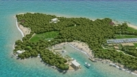 Island Scene 04 3D Model