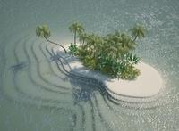 Island Scene 05 3D Model