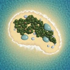 Island Scene 07 3D Model