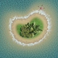 Island Scene 08 3D Model