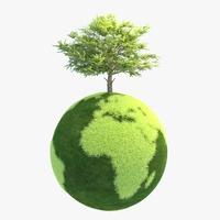 Green Planet Easy 09 3D Model