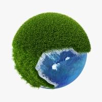 Green Planet Easy 07 3D Model