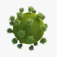 Green Planet Easy 04 3D Model