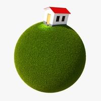 Green Planet Easy 02 3D Model