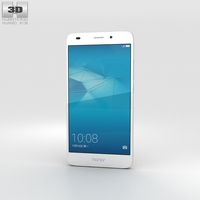 Huawei Honor 5c Silver 3D Model