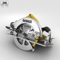 Dewalt Circular Saw 3D Model