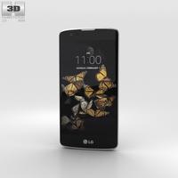 LG K8 Blue 3D Model