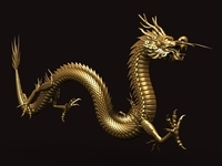 Chinese Dragon 1 3D Model