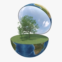 Green Peace Earth 01 3D Model