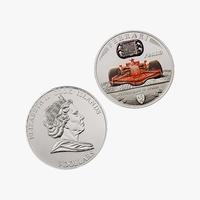 Coin Ferrari 3D Model