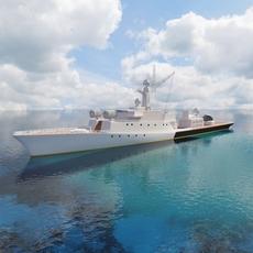 Ship Grisha Class IV 3D Model