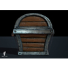 00 10 02 961 game ready 3d treasure chest side 4