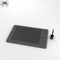 Wacom Intuos Pro Medium 3D Model