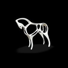 Horse figure 3D print model 3D Model