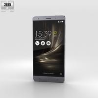 Asus Zenfone 3 Deluxe Titanium Gray 3D Model