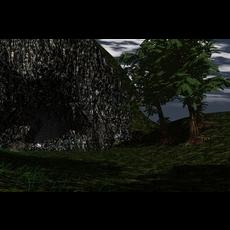 The Cave Scene 3D Model