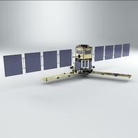 Satellite Smos 1 3D Model