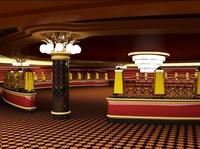 Casino Interior 3D Model