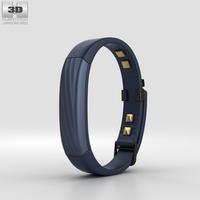 Jawbone UP3 Indigo Twist 3D Model