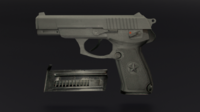 Pack 5 Pistol 3D Model