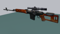 Dragunov 3D Model