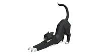 cat figure 2 3D print model 3D Model