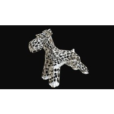 Schnauzer dog figure 2 3D Model